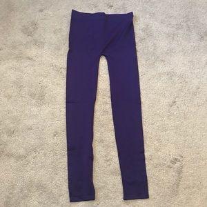 DEB Purple Leggings